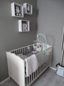 De babykamer van Nathalie