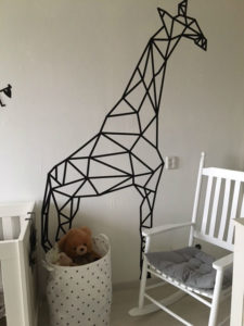 De babykamer van Esmee