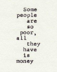 leven in armoede