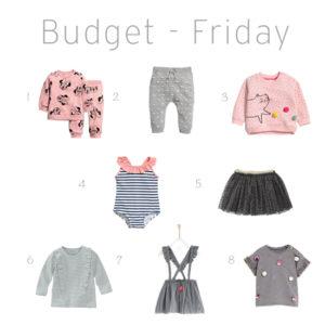 Budget Friday Girls week 4