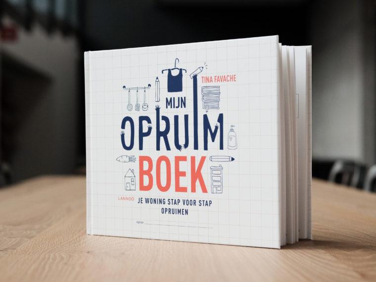In 12 stappen ruim je volledig je huis op met dit boek !