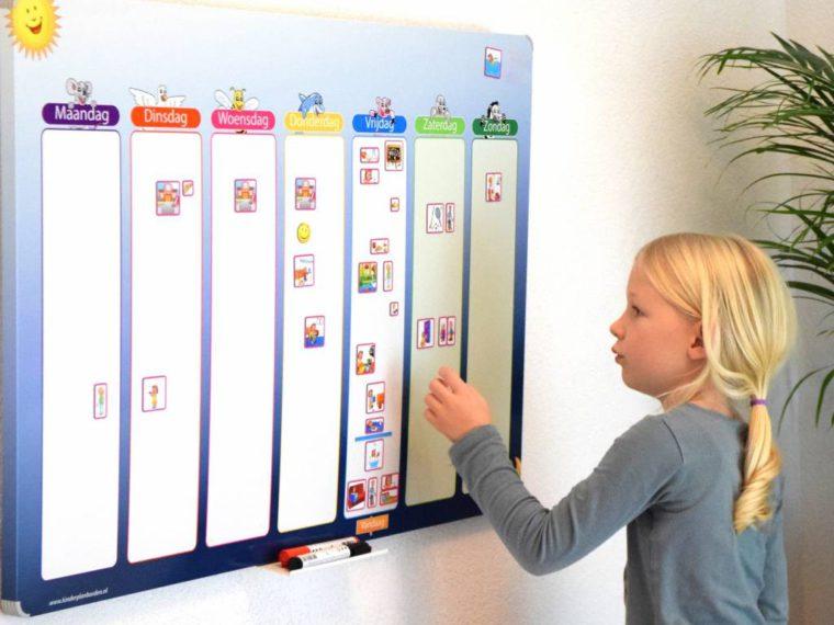 Kinderplanbord voor ideale planning