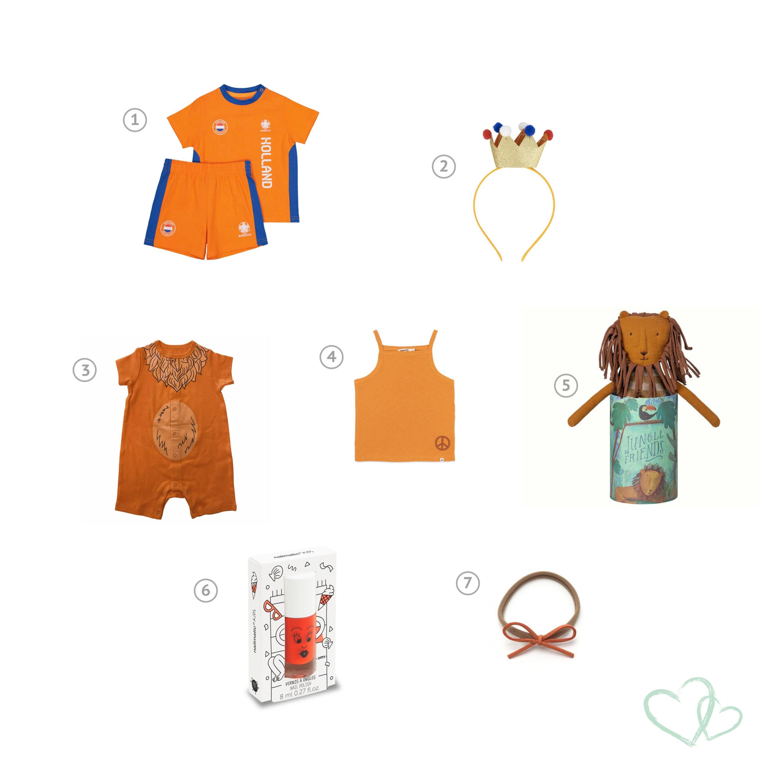 Ek 2020 | De leukste oranje spullen voor kinderen bij Kinderfavorites