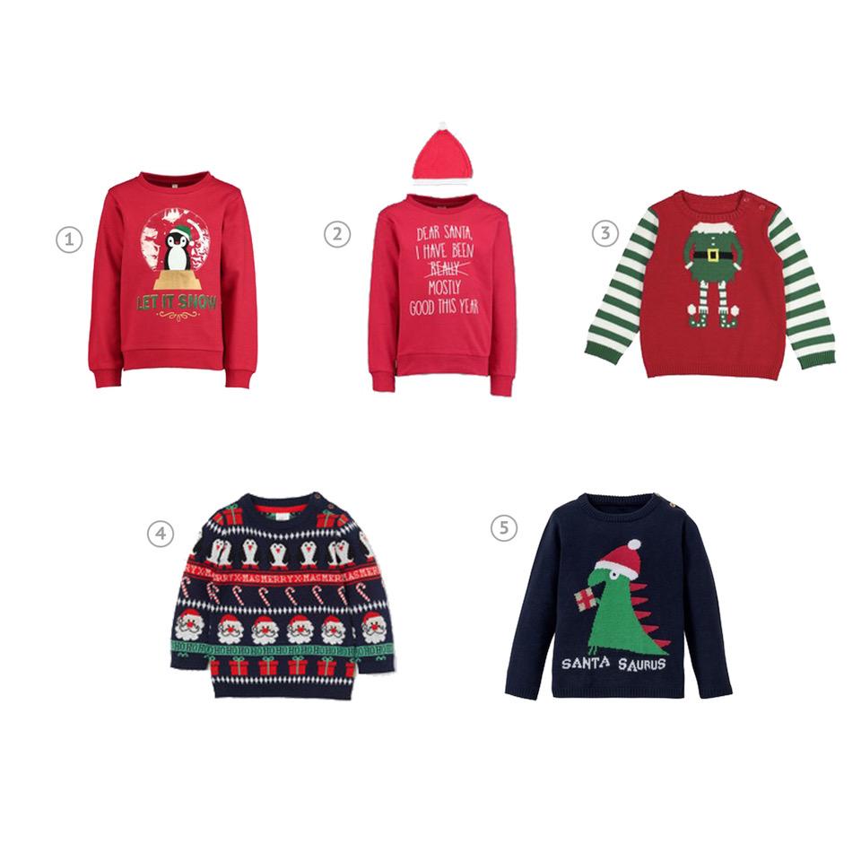 foute kersttruien | Kinderfavorites