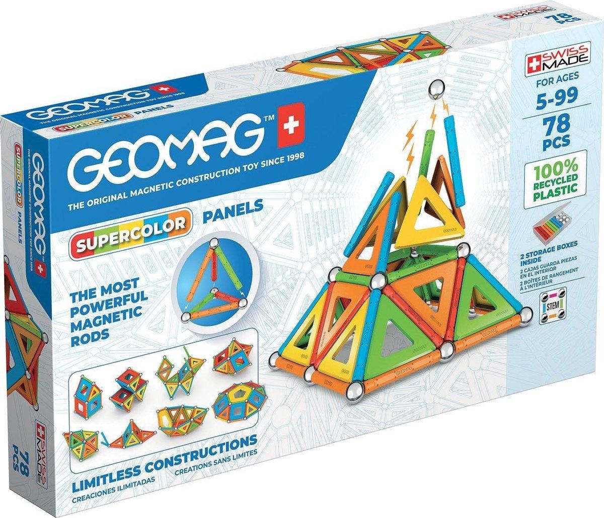 Geomag Super Color Recycled   Speelgoed van het jaar 2021