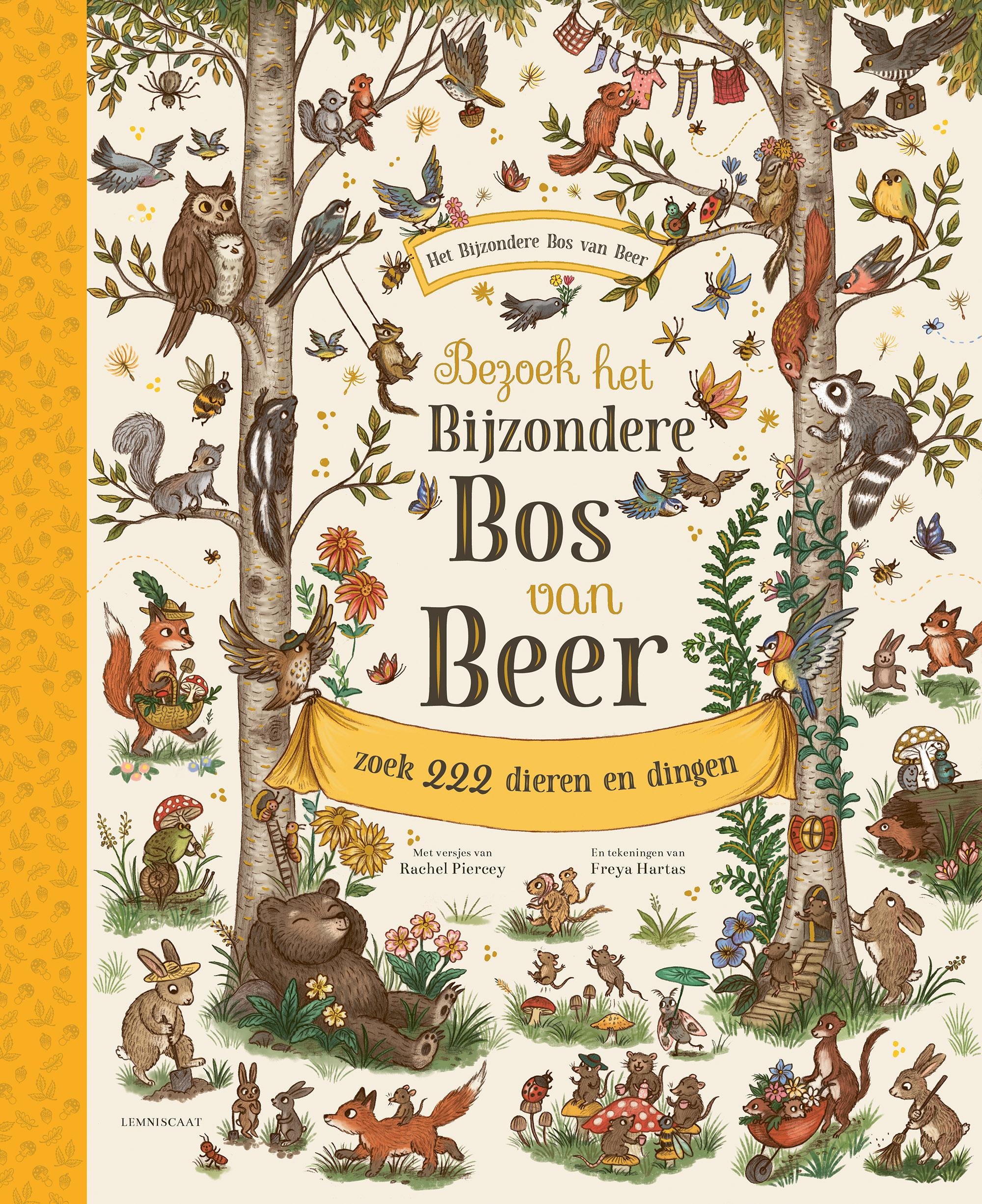 Het bijzondere bos van Beer | boekentips mei