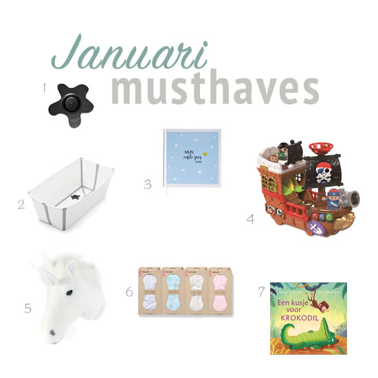Januari Musthaves | Kinderfavorites