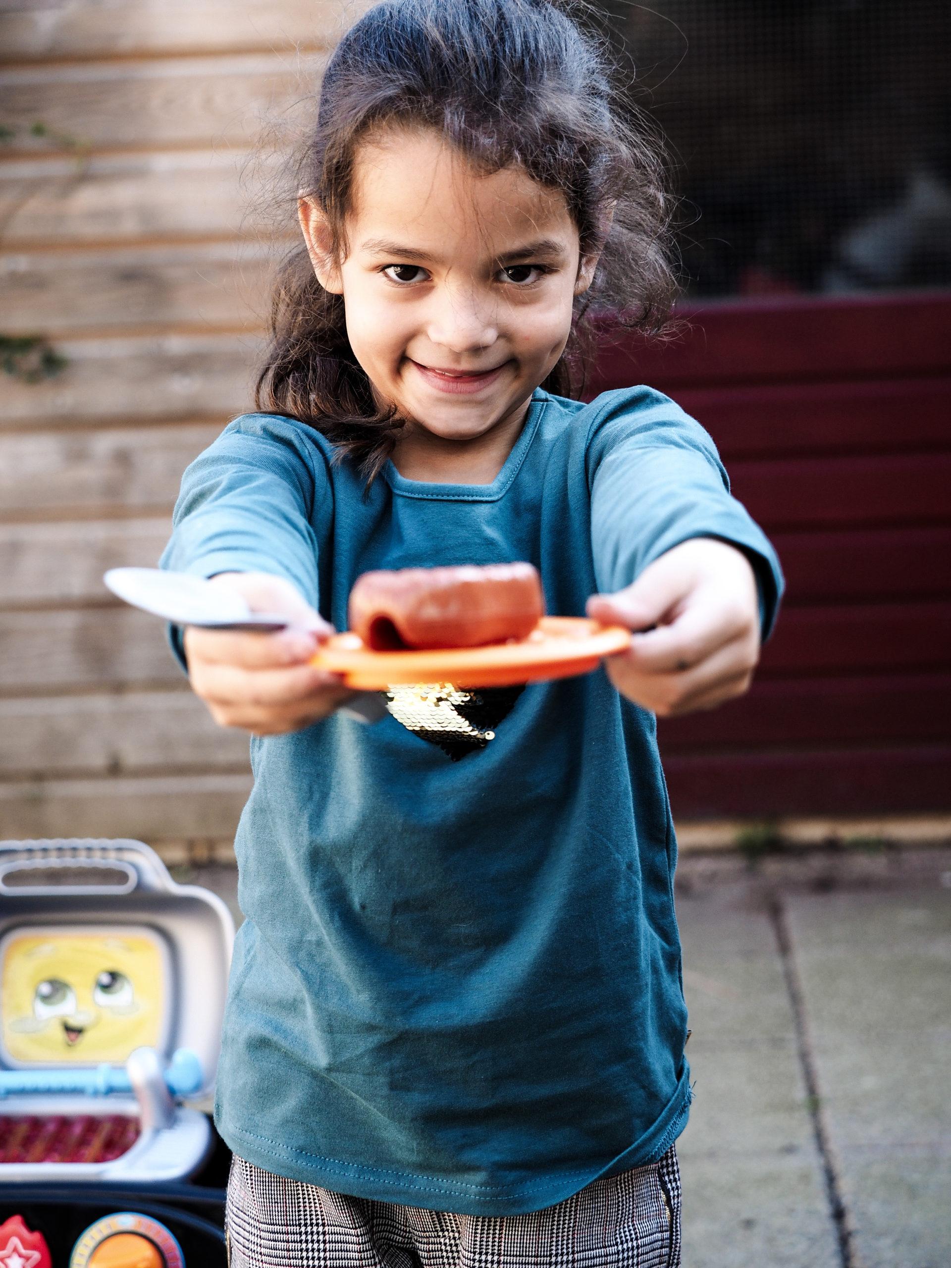 Gril en leer barbecue | Kinderfavorites