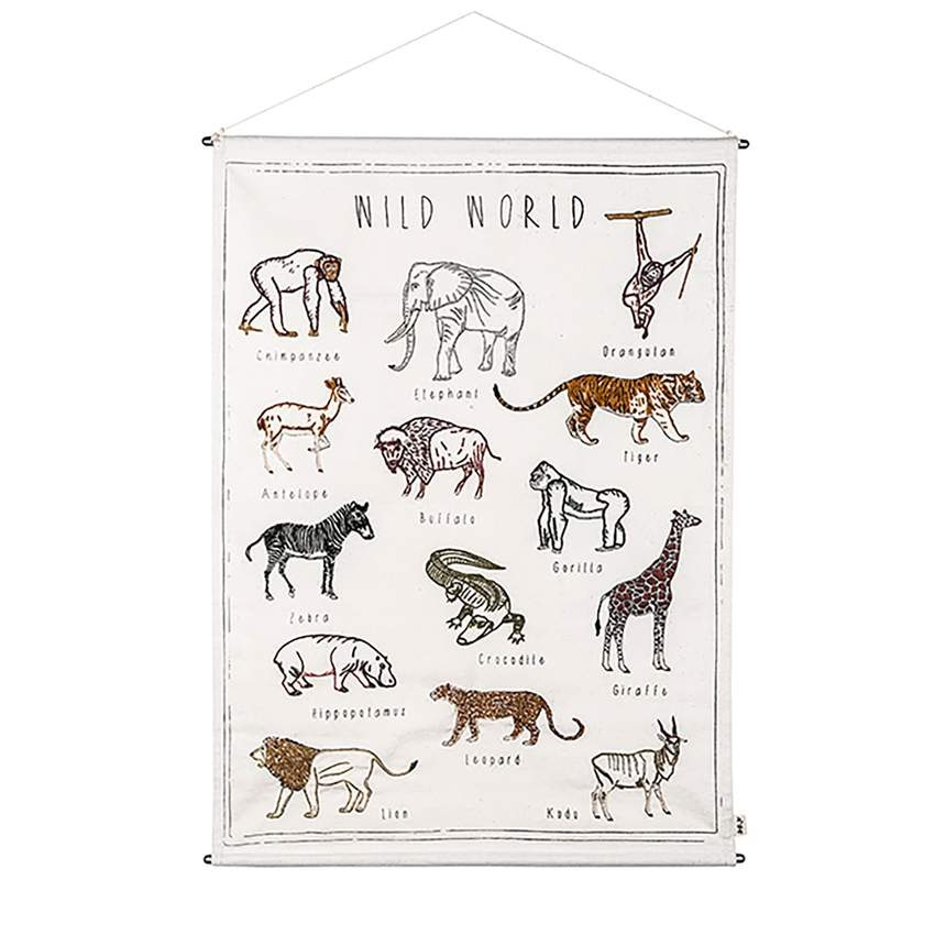 Poster Wild World   Juli musthaves