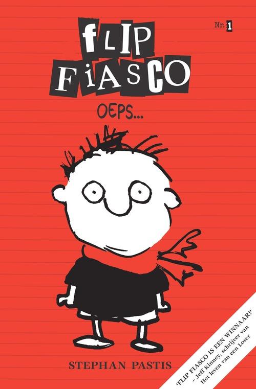 Flip Fiasco oeps | Kinderboek in de boekentips juli