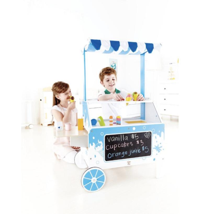 Houten ijskar op Kinderfavorites.com