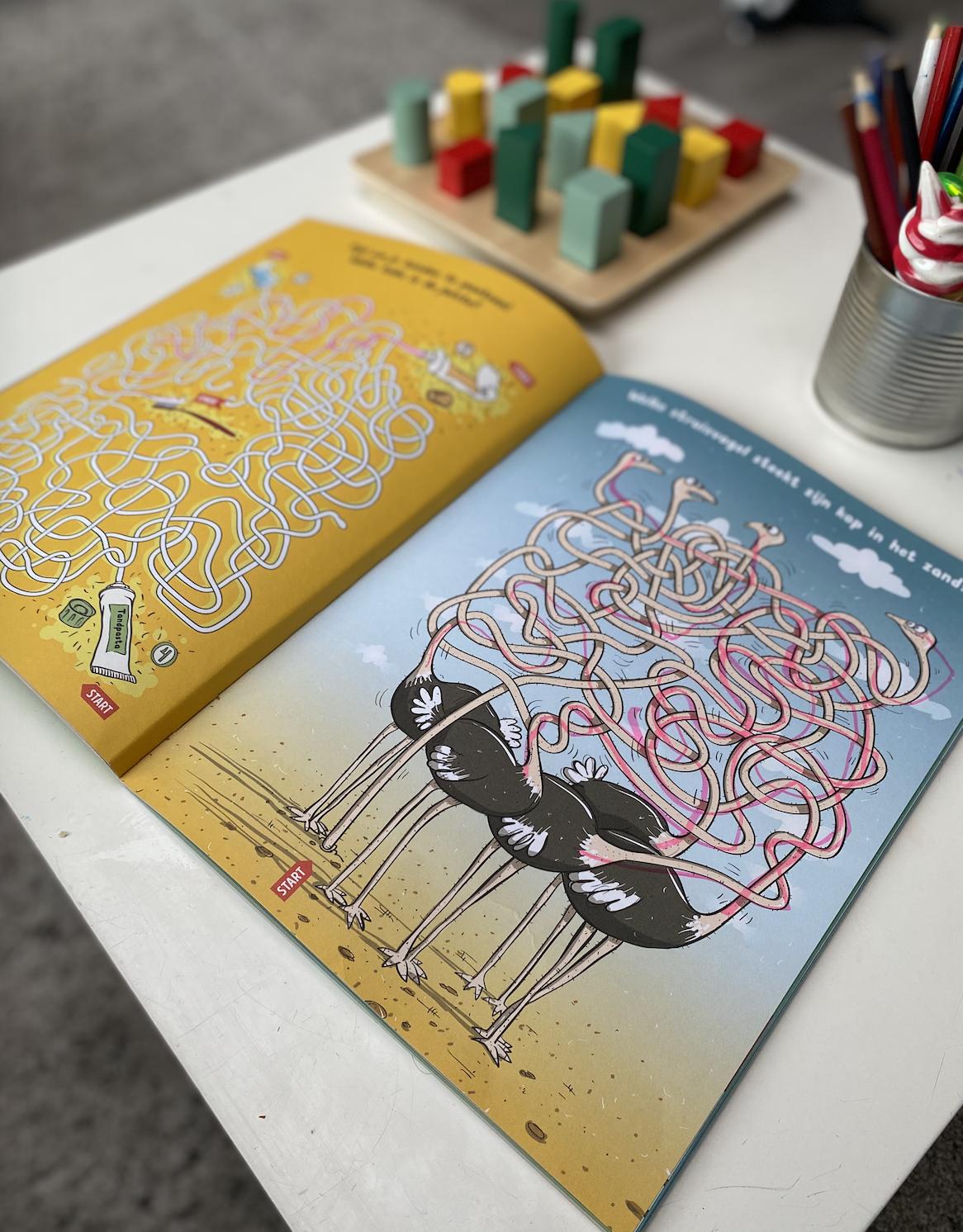Boeken van Deltas | Doolhovenboek voor kinderen