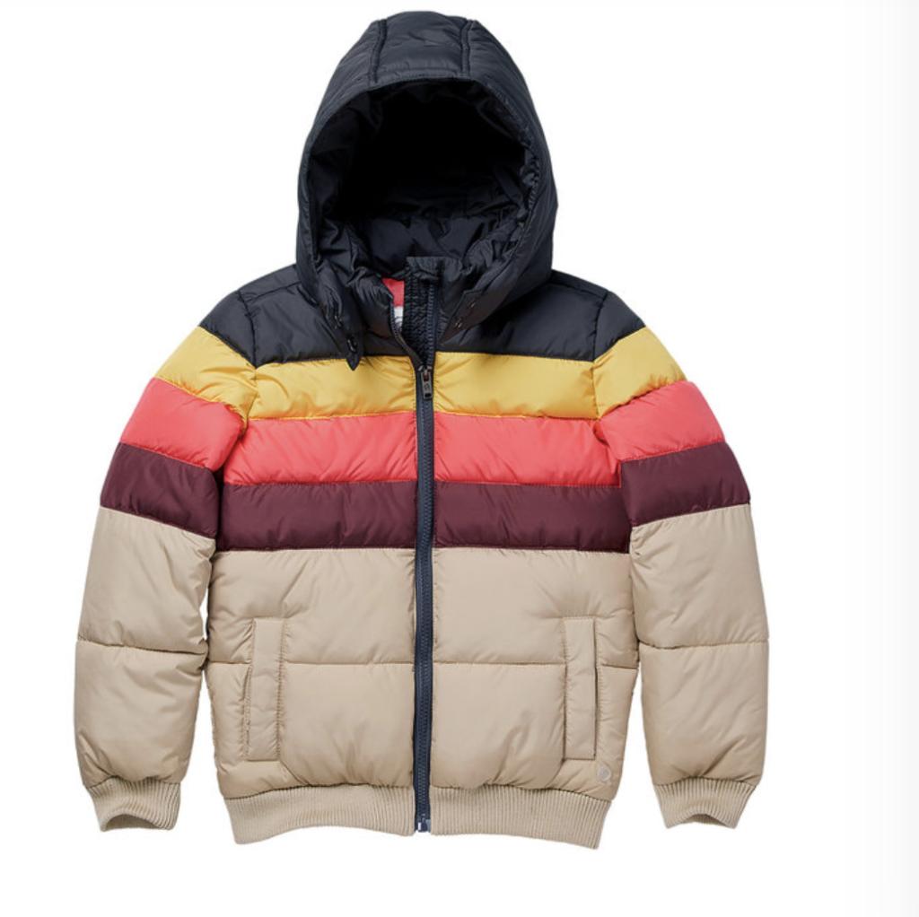 Gewatteerde jas Quapi   Winterjassen voor meisjes