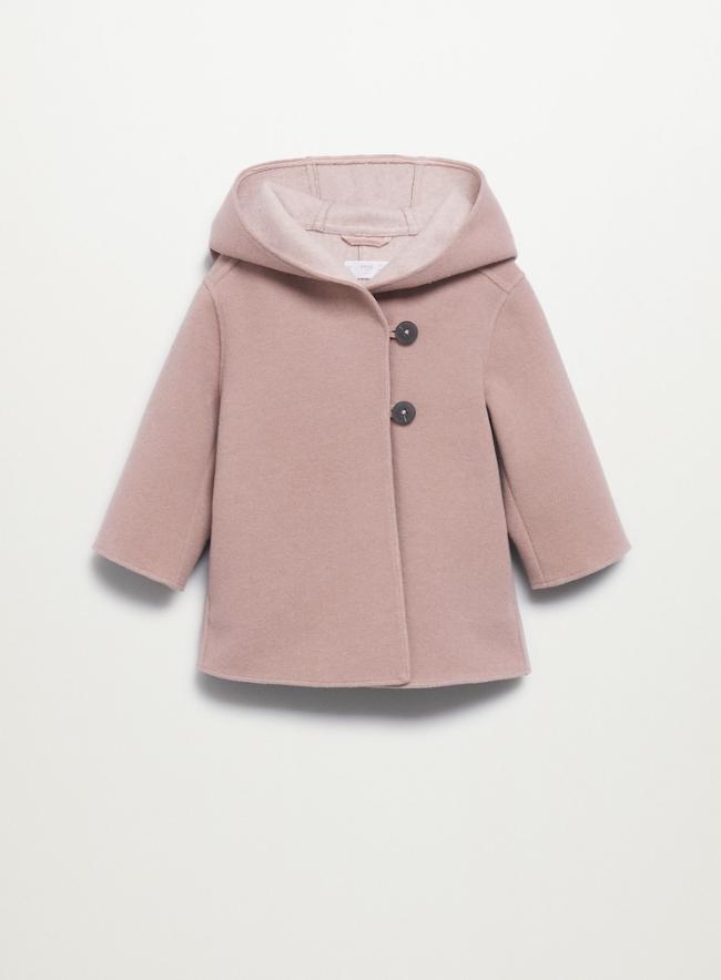 Roze winterjas voor meisjes
