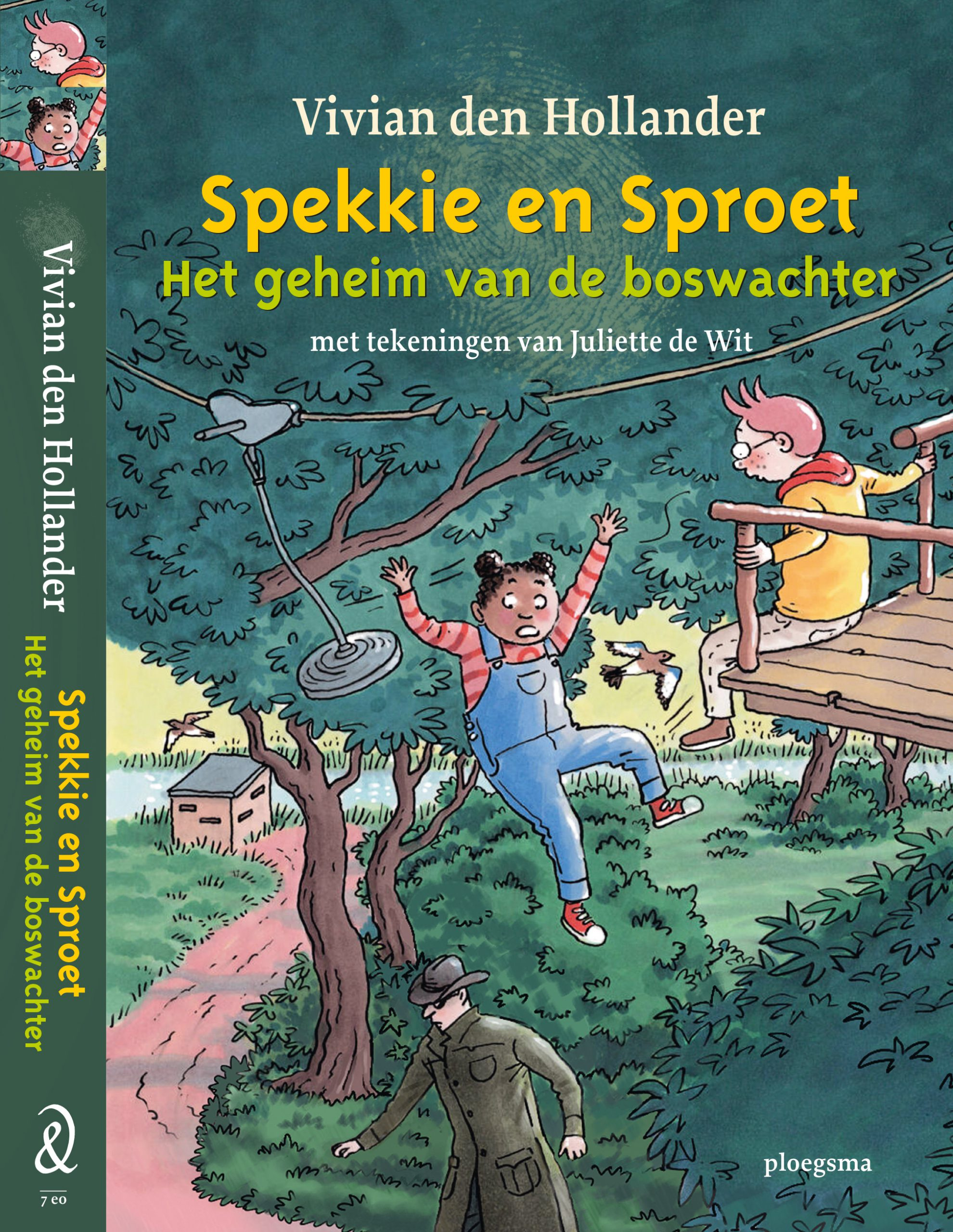Spekkie en Sproet - het geheim van de boswachter