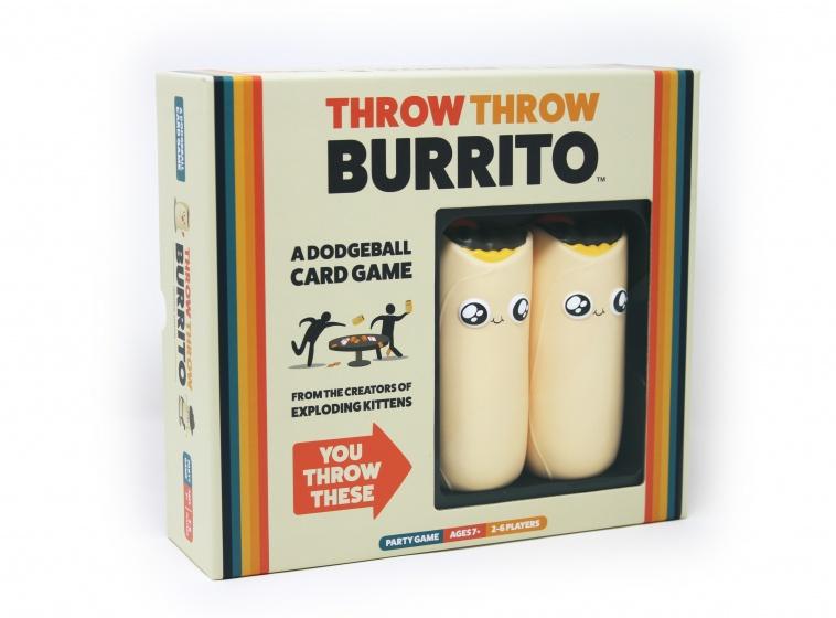 Throw Throw Burrito   Spellen