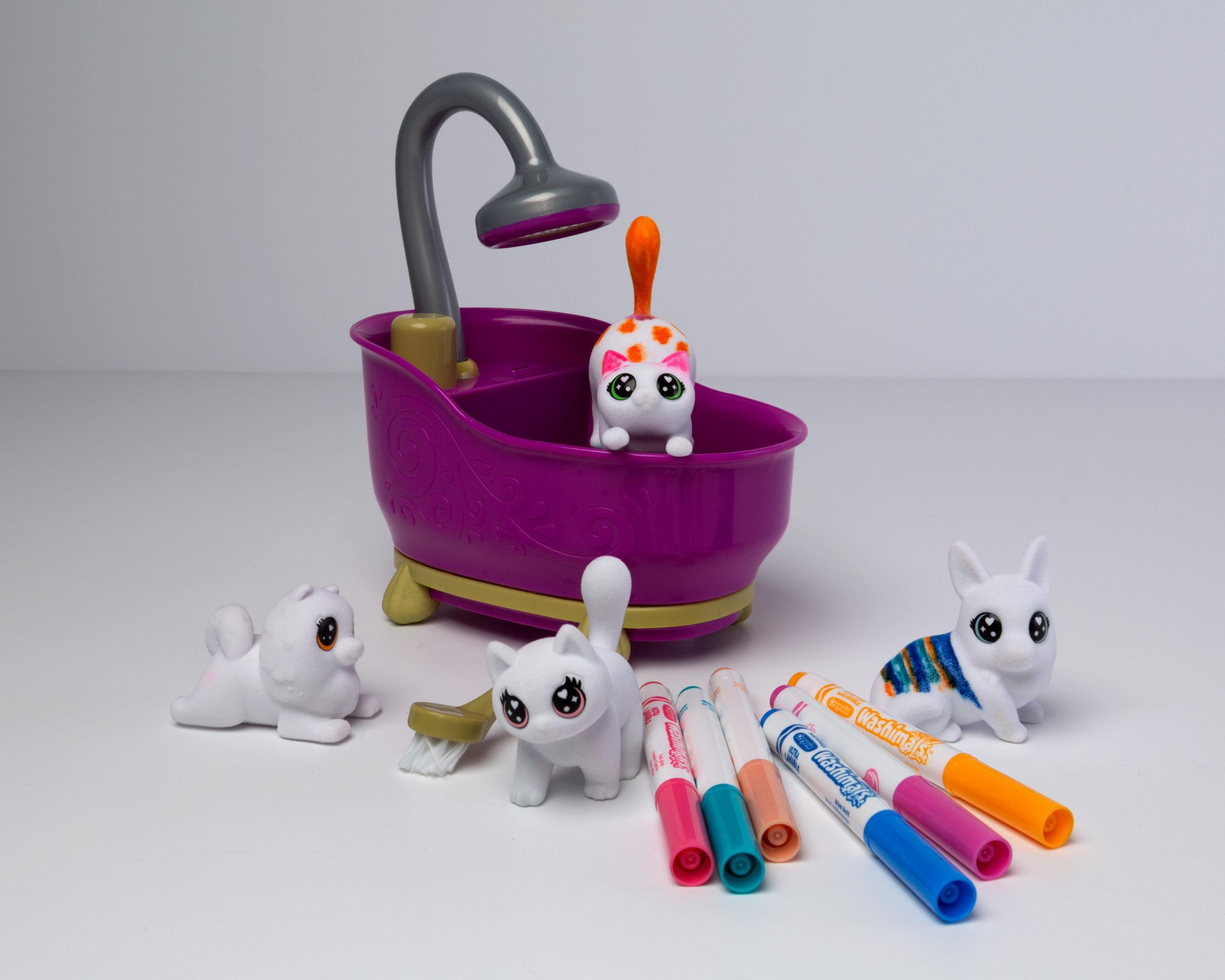 Washimals huisdierenset   Speelgoed van het jaar 2021