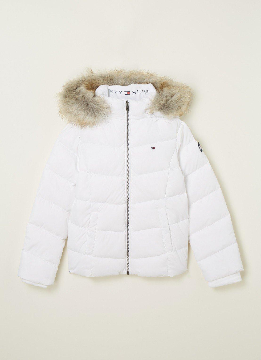 Witte winterjas van Tommy Hilfiger