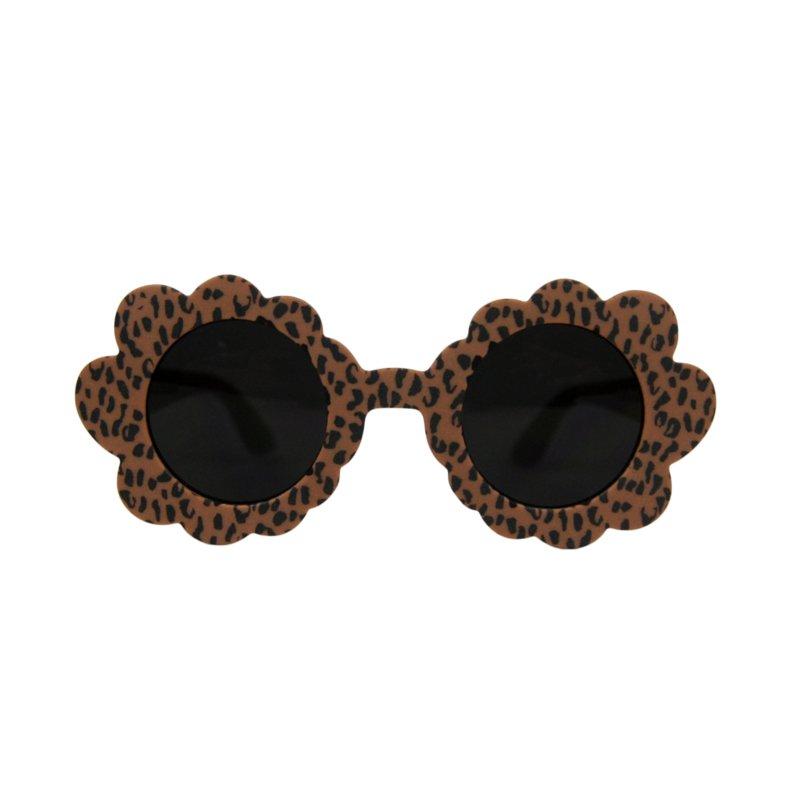 Sunnie Flower Caramel Leopard Junior | kinderzonnebril