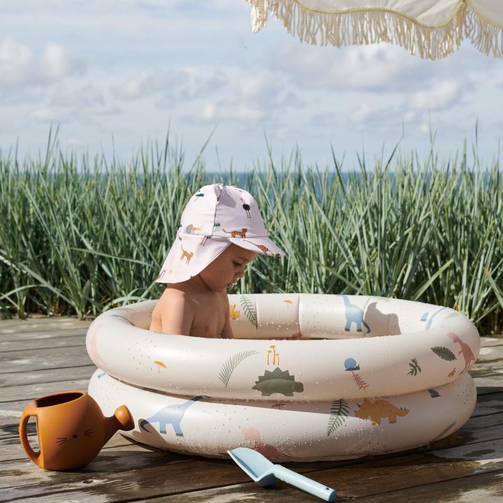 Zwembad met dino's