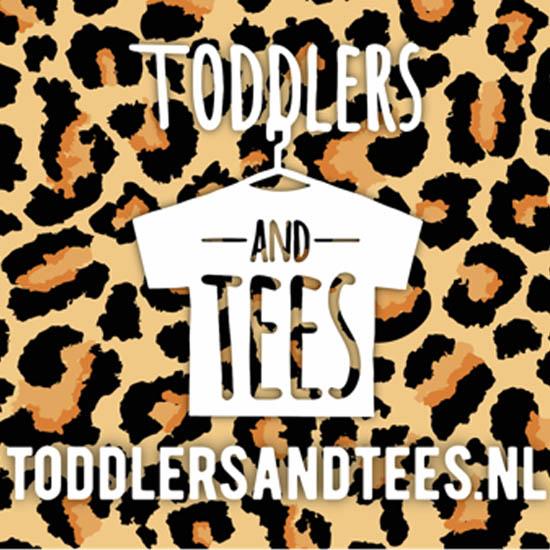 verwijzing naar kinderkledingwebshop Toddlers and tees