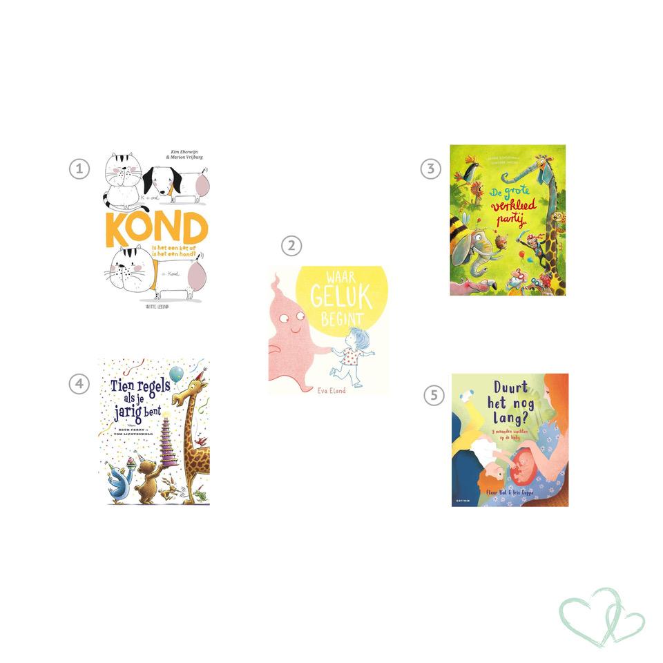 Boekentips mei: de nieuwe leukste kinderboeken bij Kinderfavorites