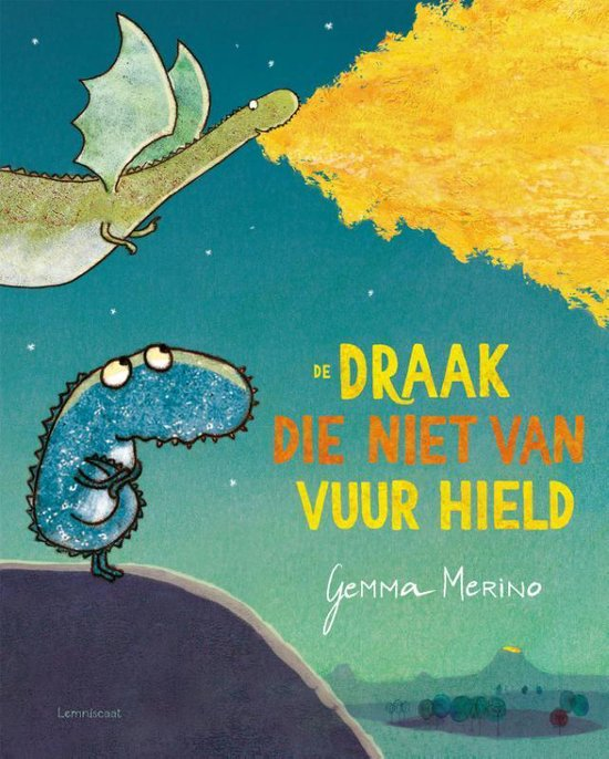 """Kinderboek """"De draak die niet van vuur hield"""""""