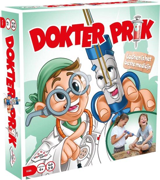 We zijn dol op spelletjes. Recent hebben wij Dokter Prik ontvangen en dat is een grote hit hier thuis. Leuk om cadeau te geven!