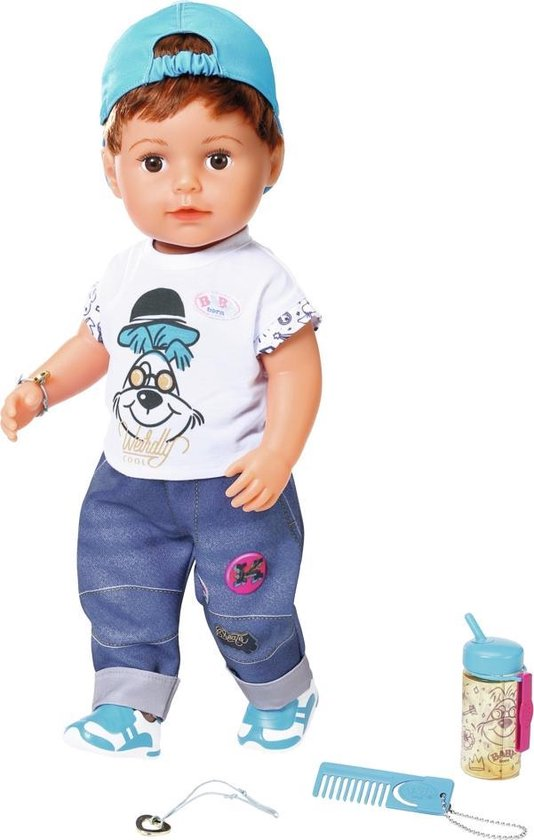 een complete jongenspop van babyborn