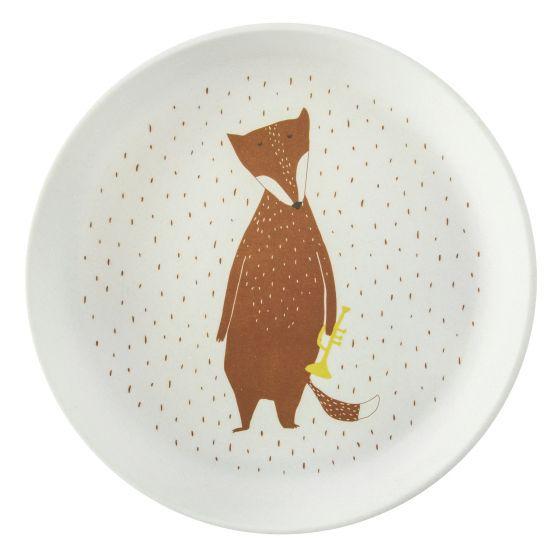 bordje met vos erop voor kinderen