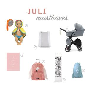 Juli kusthavens | Kinderfavorites