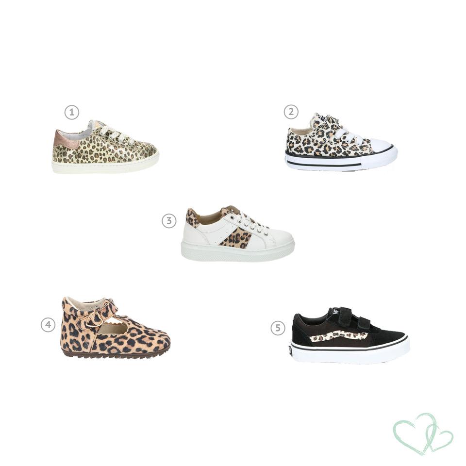 Wij zijn dol op mooie kinderkleding en -schoenen. Ook van Leopard print krijgen wij geen genoeg. Daaromm vandaag 5 leuke kinderschoenen voor je uitgelicht.