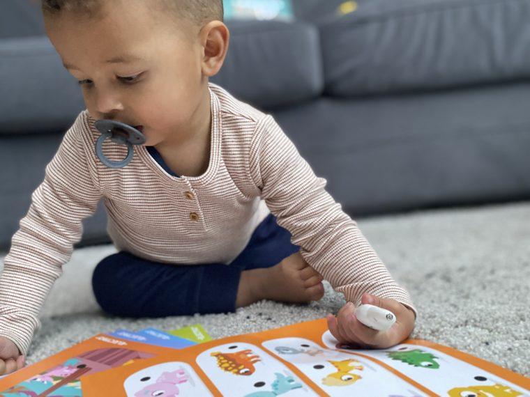 Speelgoedtip: Ontdek de Dino's met electropen van Jumbo. Aanrader voor jongenscadeau en voor de sinterklaas en kerst.
