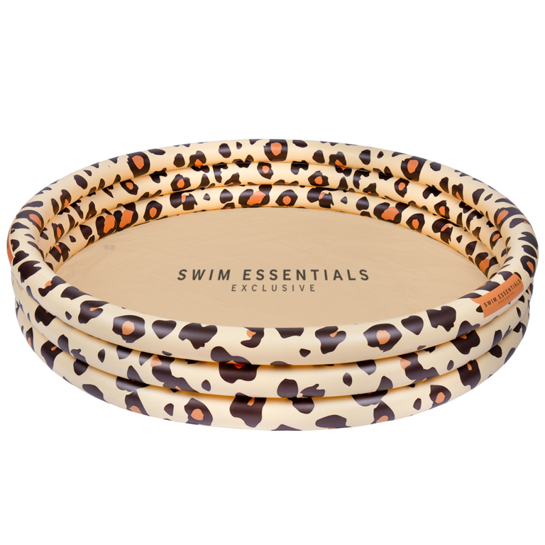 Zwembad leopard
