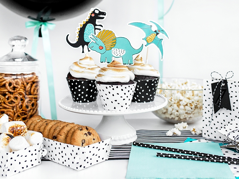 Cake toppers met dino's | Confetti Time