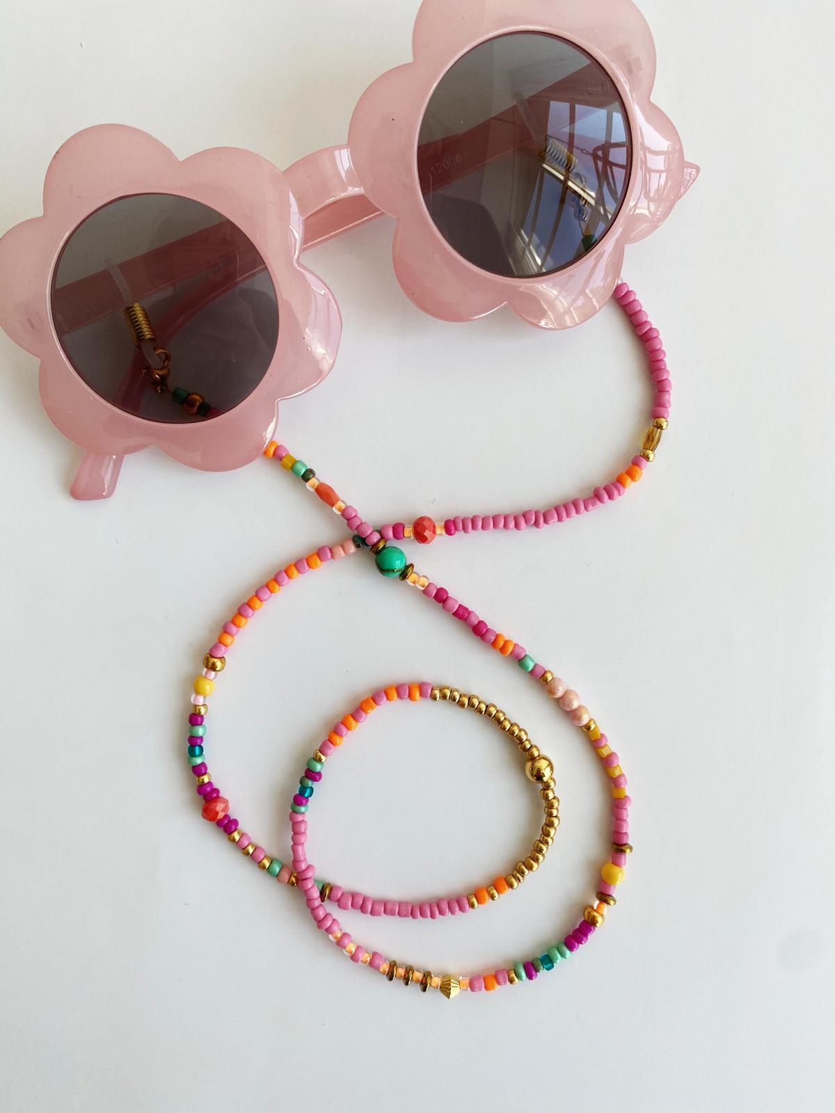 Kinder zonnebrillenkoord | Vrolijk koord voor de kinderzonnebril
